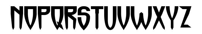 Horrormaster Font UPPERCASE