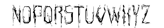 Horroroid Light Font UPPERCASE