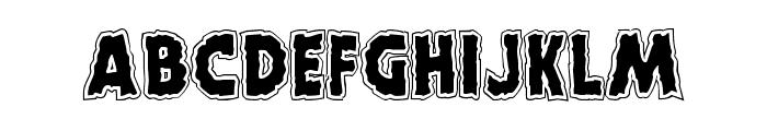 Horroween Academy Font UPPERCASE
