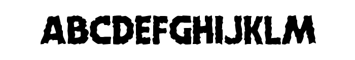 Horroween Font LOWERCASE
