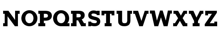 Horseback Slab Bold Font UPPERCASE