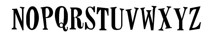 Horseshoes Font UPPERCASE