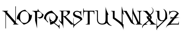 Horst Roman Gothic Font UPPERCASE