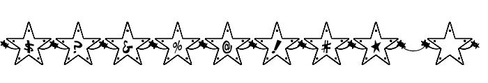 Hoshi Font Font OTHER CHARS