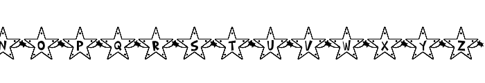 Hoshi Font Font UPPERCASE