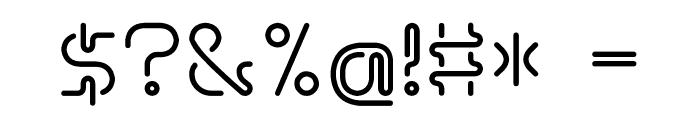 Hosobiki Font OTHER CHARS