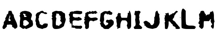 Hospital Font LOWERCASE
