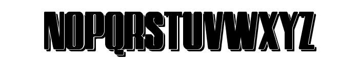 HostilShadow Font UPPERCASE