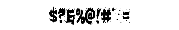 Hot Kiss Condensed Font OTHER CHARS