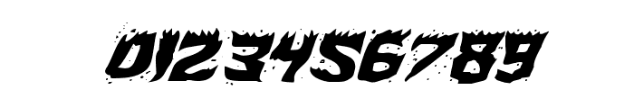 Hot Kiss Expanded Italic Font OTHER CHARS