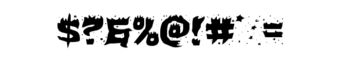 Hot Kiss Expanded Font OTHER CHARS