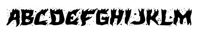 Hot Kiss Expanded Font UPPERCASE
