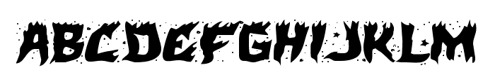 Hot Kiss Expanded Font LOWERCASE