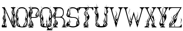 Hot Librarian Font UPPERCASE