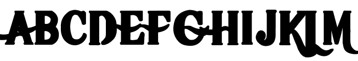 Hot Pizza Font UPPERCASE