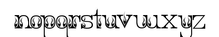 Hot Secretary Font LOWERCASE
