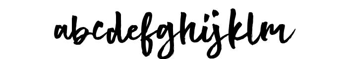 Hot Spot Font LOWERCASE
