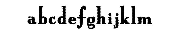 HotBurrito Font LOWERCASE