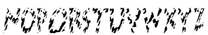 HotButteredGiraffe Font UPPERCASE