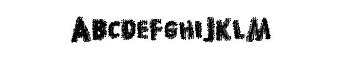 HotDiscovery Font UPPERCASE