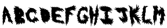 HotFlash Font LOWERCASE