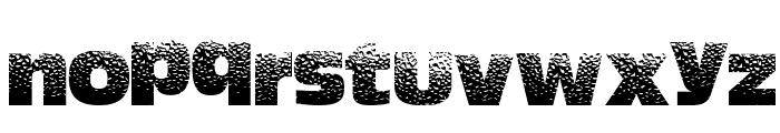 HotSweat Font LOWERCASE