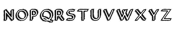 Hotel California Font UPPERCASE