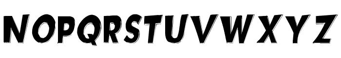 Hotplate [sRB] Font UPPERCASE