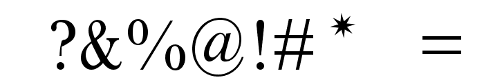 Houndtime Font OTHER CHARS