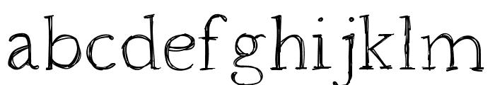 HoundvilleRegular Font LOWERCASE