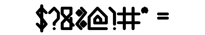 House Builder Bold Font OTHER CHARS