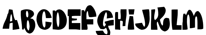 House Of Fun Font LOWERCASE