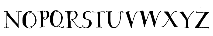 House Sitter's Club Font UPPERCASE