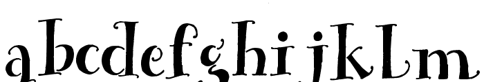 House Sitter's Club Font LOWERCASE