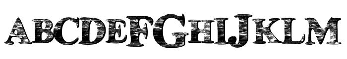 HouseBoat Font UPPERCASE