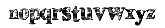 HouseBoat Font LOWERCASE