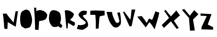 HouseCut Font UPPERCASE