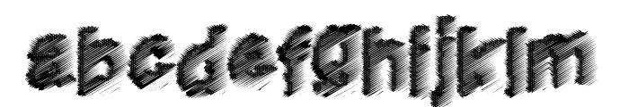 HouseMusic Font LOWERCASE