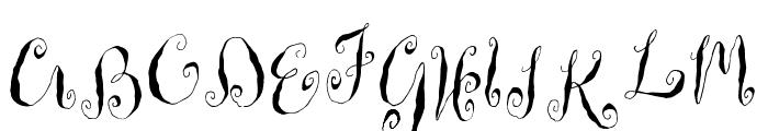 HousemaidRegular Font UPPERCASE
