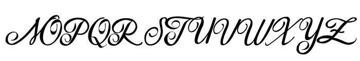 Houston Regular Regular Font UPPERCASE
