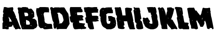 Howlin' Mad Leftalic Font LOWERCASE