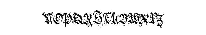 holyrose-font-midnightea Font UPPERCASE