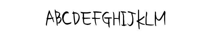 homework smart Font UPPERCASE