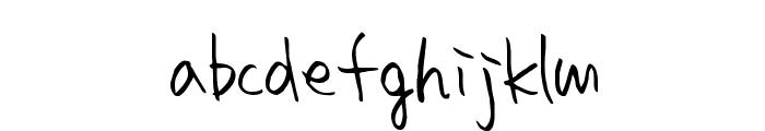 homework smart Font LOWERCASE