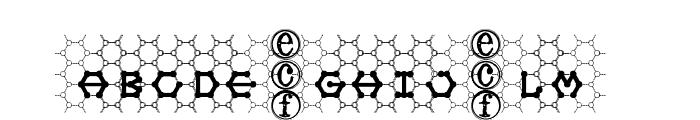 honeycomb [eval] Font LOWERCASE