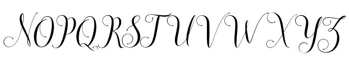 honiladdemo Font UPPERCASE