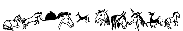 horsedings Font OTHER CHARS