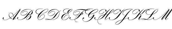 HogarthScrJoiD Font UPPERCASE