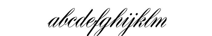 HogarthScrJoiD Font LOWERCASE