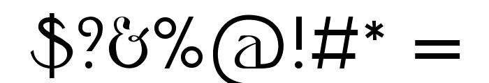 Honeysuckle Font OTHER CHARS